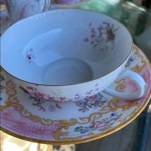 Mix of Antique Cup and Saucer